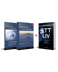 Bokpakke: Ett liv og Oppnå mer med mindre stress